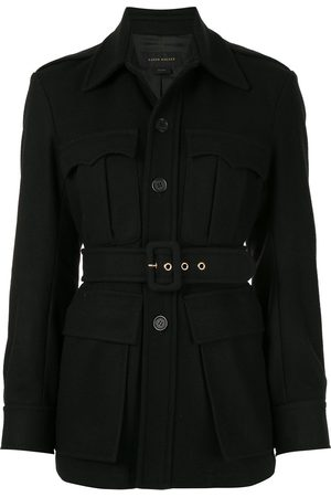 Karen Walker Olivine belted jacket