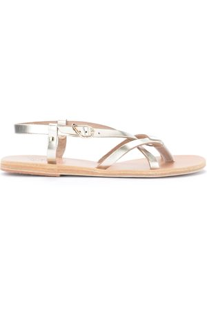 Ancient Greek Sandals Sandals semele in leather
