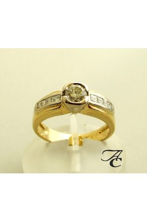 Atelier Christian Dames Ringen - Ring met diamanten 0.91 ct.