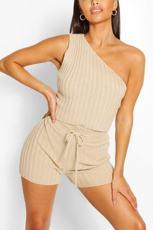 Boohoo Outfit sets - Petite Knitted Short Co-Ord