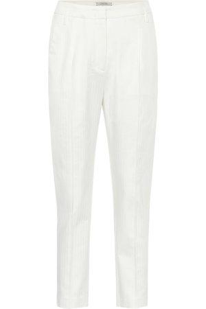 Dorothee Schumacher Dames Broeken - Tailored Coolness high-rise pants