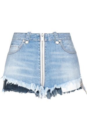 BEN TAVERNITI Dames Shorts - DENIM - Denim shorts