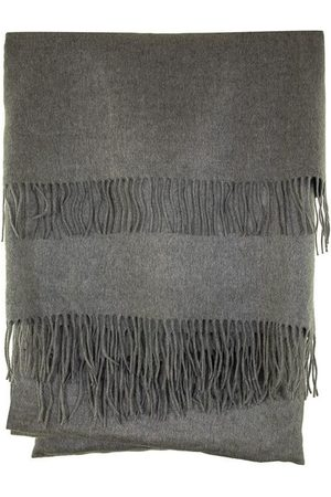 Brunello Cucinelli Silk scarve with fringe