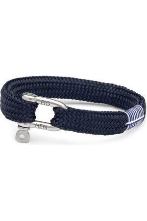 pig & hen Heren Armbanden - Armband sharp simon navy