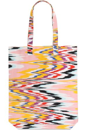 Missoni Printed Cotton Canvas Tote Bag