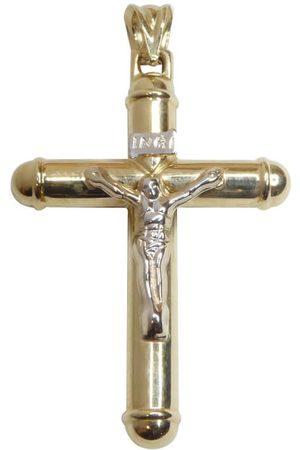 Christian Dames Kettingen met hanger - Gouden kruis met korpus hanger