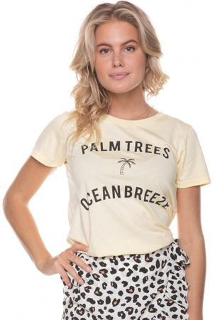 Colourful rebel Palm Trees Classic Tee