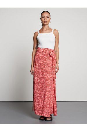 Catwalk Junkie SK Summer Flower Maxi Skirt