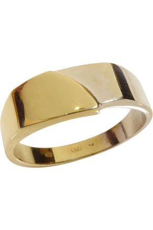 Christian 14 karaat bicolor gouden cachet ring