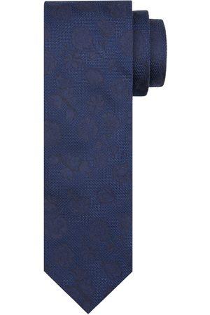 Profuomo Navy zijden stropdas heren