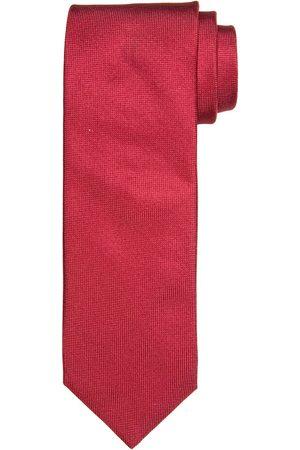 Profuomo Coraal oxford zijden stropdas heren