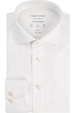 Profuomo Heren overhemd effen strijkvrij