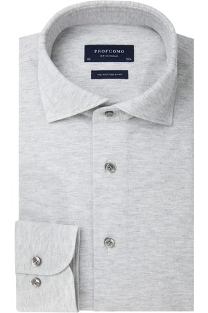 Profuomo Mélange knitted overhemd Originale heren