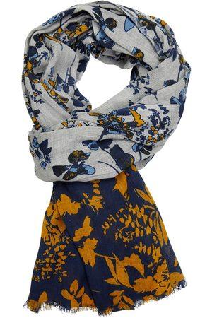 Profuomo Gele print sjaal heren