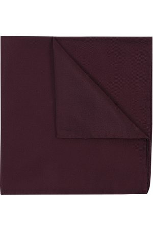 Profuomo Bordeaux oxford zijden pochet heren