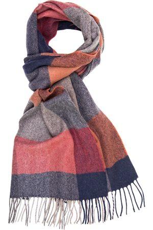 Profuomo Geruite wol-blend sjaal heren