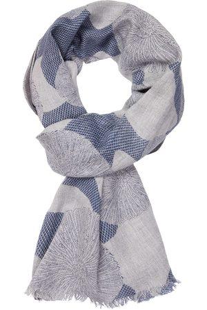 Profuomo Grijze print sjaal heren