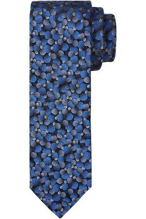 Profuomo Koningsblauwe zijden stropdas heren