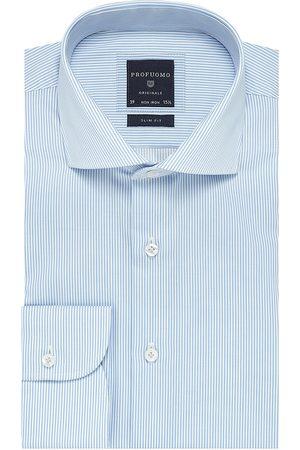 Profuomo Heren overhemd streep strijkvrij