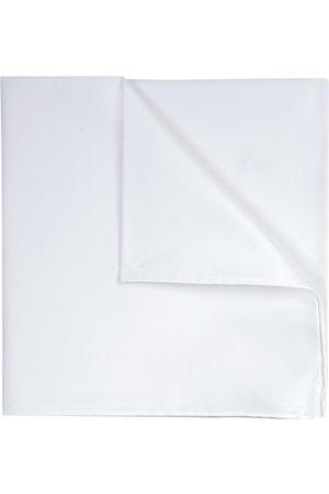 Profuomo Witte royal twill katoenen pochet heren