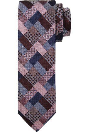 Profuomo Bordeaux zijden stropdas heren