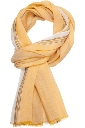 Profuomo Gele geweven sjaal heren