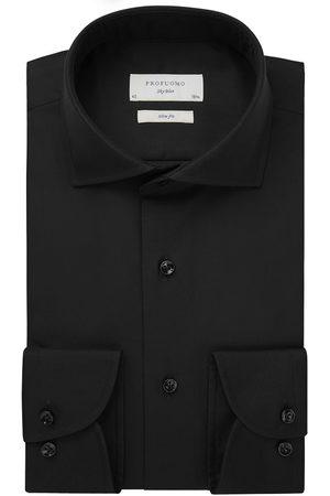 Profuomo Heren Overhemden - Heren overhemd effen