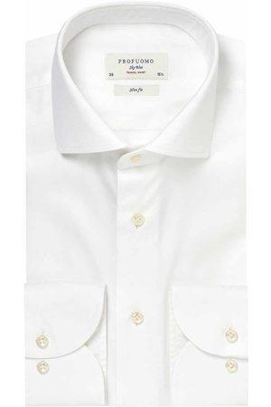 Profuomo Heren overhemd effen formeel