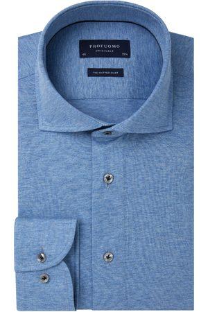 Profuomo Single jersey knitted overhemd Originale heren