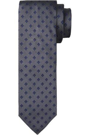 Profuomo Antraciet zijden stropdas heren