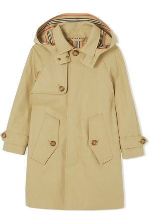 Burberry Hooded cotton car coat