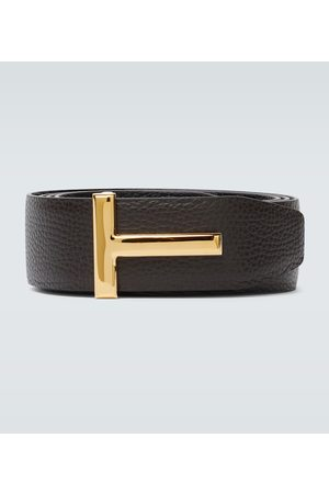 Tom Ford Reversible T leather belt