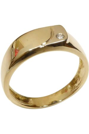 Christian Heren Ringen - Diamanten cachet ring