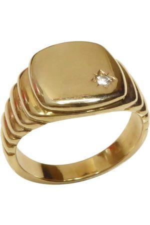 Christian Diamanten cachet ring