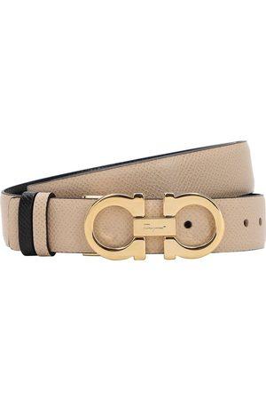 Salvatore Ferragamo Dames Riemen - 2.5cm Reversible Leather Belt