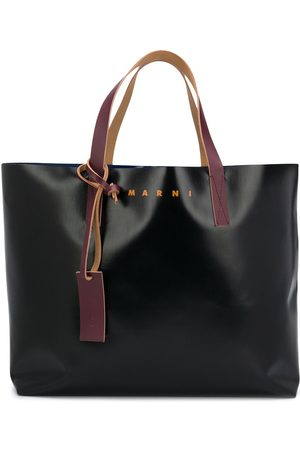 Marni Colour-block tote bag