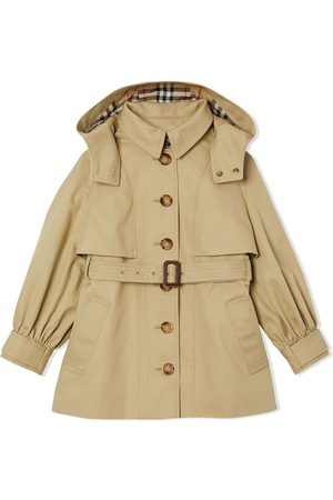 Burberry Detachable hooded trench coat