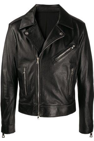 Balmain Logo biker jacket
