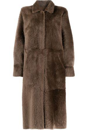 LISKA Reversible midi coat