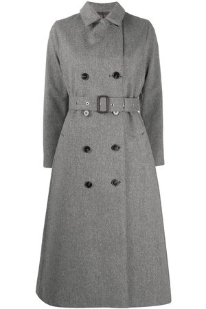 MACKINTOSH Double-breasted wool coat