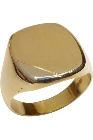 Christian 14 karaat massief gouden cachet ring