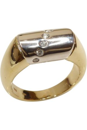 Christian Gouden diamanten cachet ring
