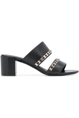 Salvatore Ferragamo Tiny Vara bow appliqué sandals