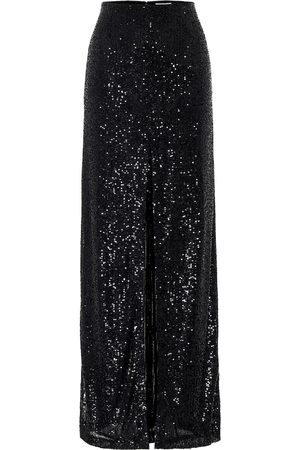 GALVAN Modern Love sequined maxi skirt