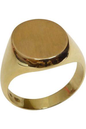 Christian Heren Ringen - 14 karaat gouden cachet ring