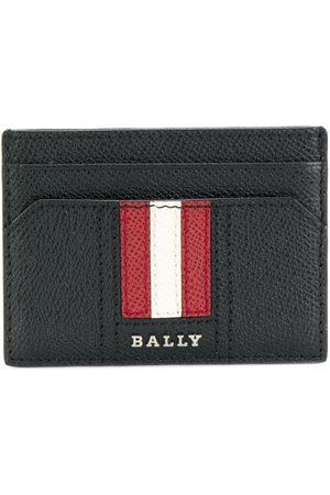 Bally Signature stripe cardholder
