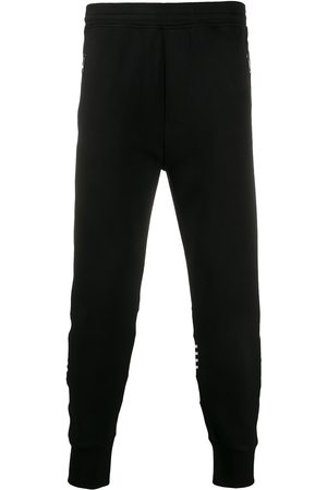 Neil Barrett Stripe print detail track trousers