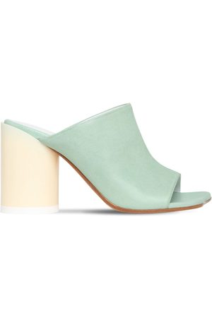 MM6 MAISON MARGIELA 90mm Leather Mule Sandals