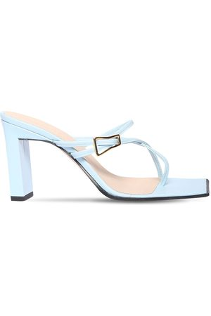 Wandler Dames Sandalen - 85mm Yara Leather Sandals