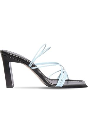 Wandler 85mm Joanna Leather Sandals